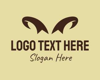 Dairy - Ribbon Horns logo design