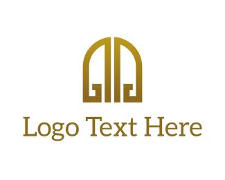Trendy - Golden Gates logo design