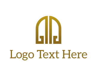Luxury - Golden Gates logo design