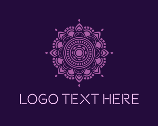Art - Mandala Yoga logo design