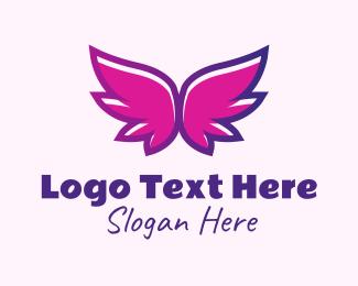 Fancy - Fancy Gradient Wings logo design