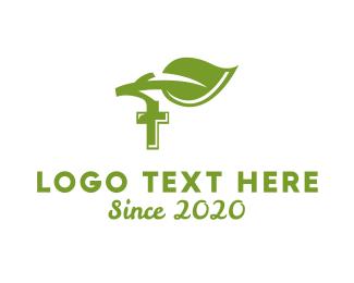 Religious - Religious Leaf logo design