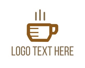 Hot Chocolate - Coffee Cup logo design