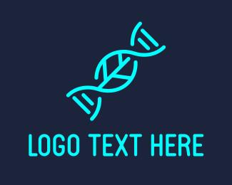 DNA Leaf Logo