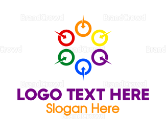 Federation - Colorful Circles logo design