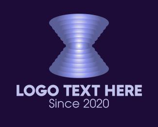 Space - Astronomical Space Vortex logo design