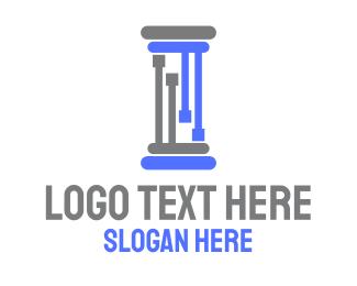 Legal - Legal Technology logo design