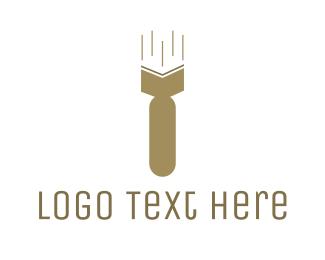 War - Atomic Book logo design