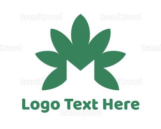 """""""Green Cannabis M"""" by town"""