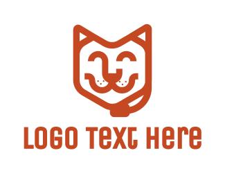 Agent - Customer Pet Service logo design