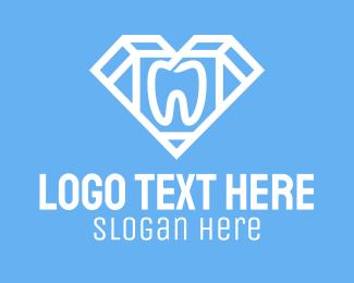 Dental - Diamond Dental Clinic logo design