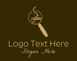 Detective - Hot Coffee Detective logo design