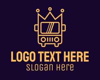 Large - Royal Crown Bus logo design