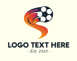 Flashy - Soccer Sports League logo design