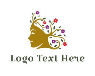 Aesthetic - Natural Beauty logo design