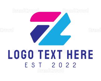 Blocks - Abstract Z logo design