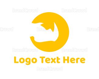 Sun - Rhino Sun logo design