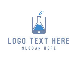 Website - Lab Application logo design