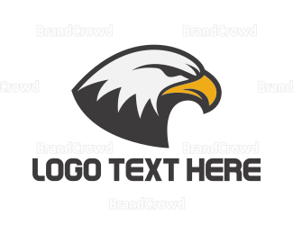 Cricket - Eagle Head logo design