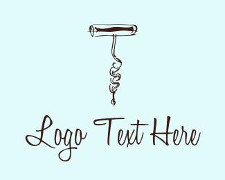 Elegant - Corkscrew logo design