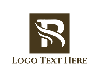 White Flame - Letter R logo design