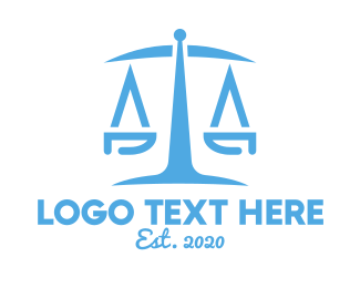 Minimalist Law Firm  Logo Maker