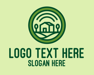 Country - Green Country Home  logo design