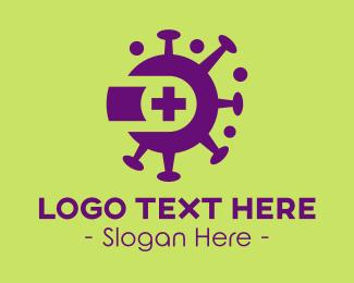 Virus - Virus Clinic logo design