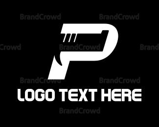 Fbi - Pistol P logo design
