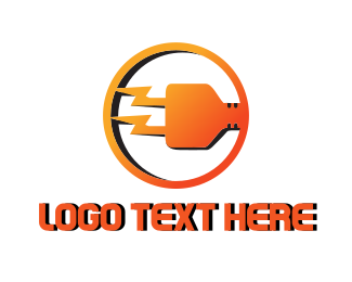 Plug In - Electric Plug logo design