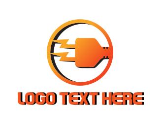 Electrical - Electric Plug logo design