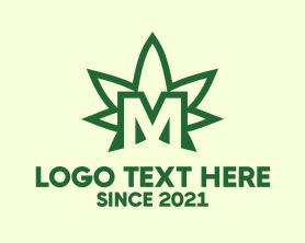 """Marijuana Letter M"" by MDS"