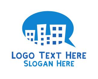 Communication - City Communication logo design
