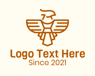 Hawk - Wild Orange Hawk logo design