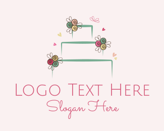 Cupcake - Wedding Cake logo design