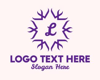 """Elegant Star Lettermark "" by royallogo"