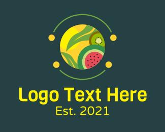 Healthy - Healthy Fruit Food logo design
