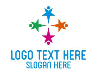 Kids - Star Kids Preschool logo design