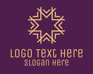 Elite - Yellow Star Luxury logo design