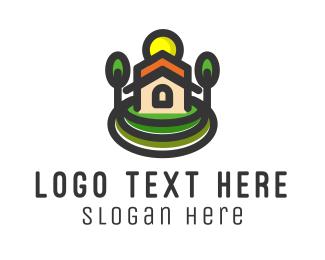 Church - Church Building logo design