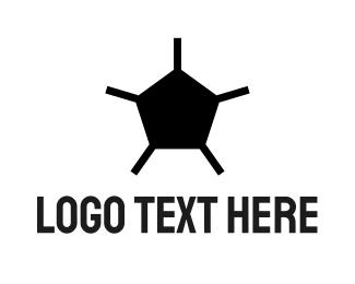 Fc - Abstract Soccer Ball logo design