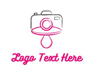 Newborn - Baby Photography logo design