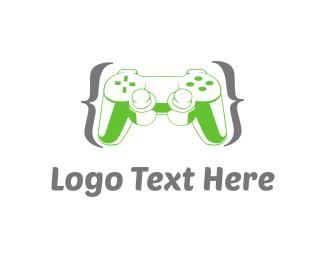 Video Game - Game Controller logo design
