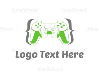 Code - Game Controller logo design