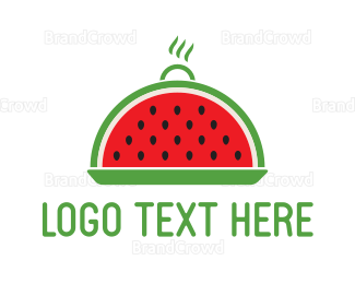 Tray - Watermelon Tray logo design