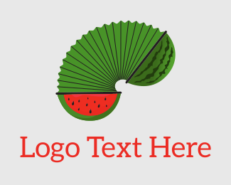 Weight Loss - Watermelon Accordion logo design