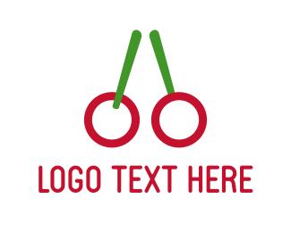 Cherry - Red Cherries logo design