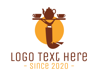 Tea - Tea Tray  logo design