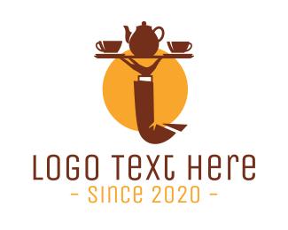 Cater - Tea Tray  logo design