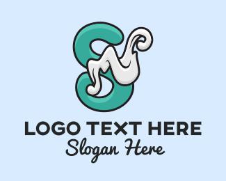 Smoke - Vape Smoke Letter S logo design